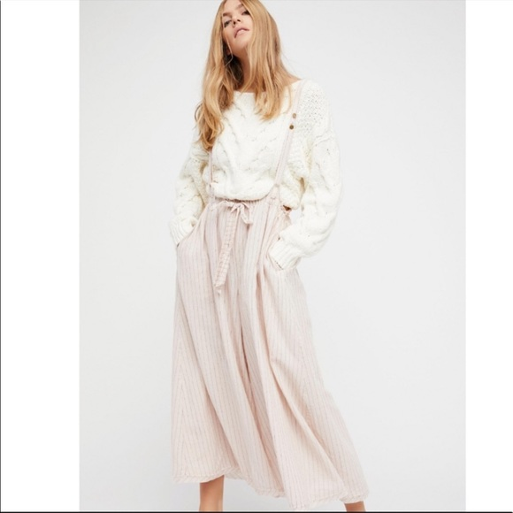 Free People Hop To It Maxi Jumper Med
